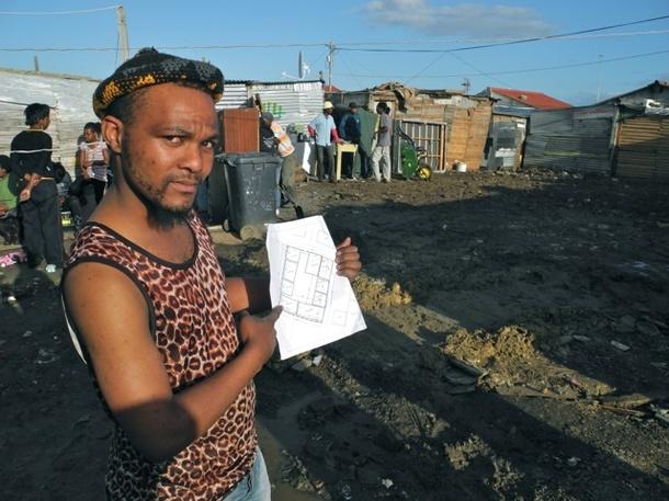 UPFI projects   Settlement Re-blocking in Mtshini Wam, Cape Town 7b2eb53d0f64